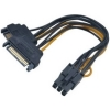 Scheda Tecnica: Akasa AK-CBPW13-15 2xSATA power to 6pin PCIe -